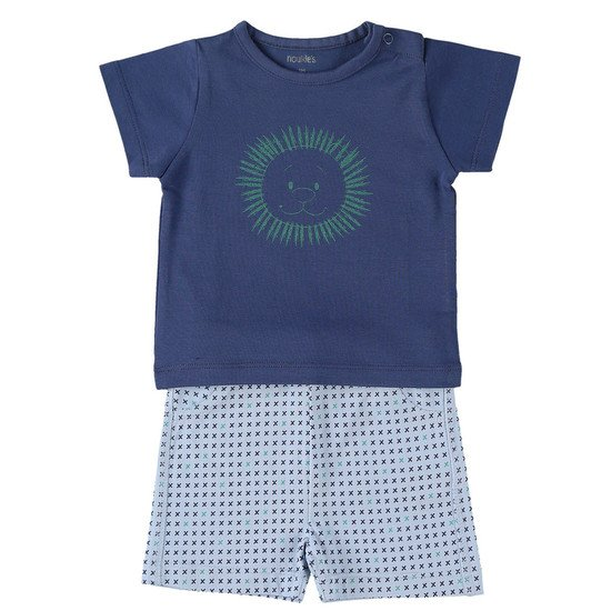 Set t-shirt et short collection Cocon été garçon