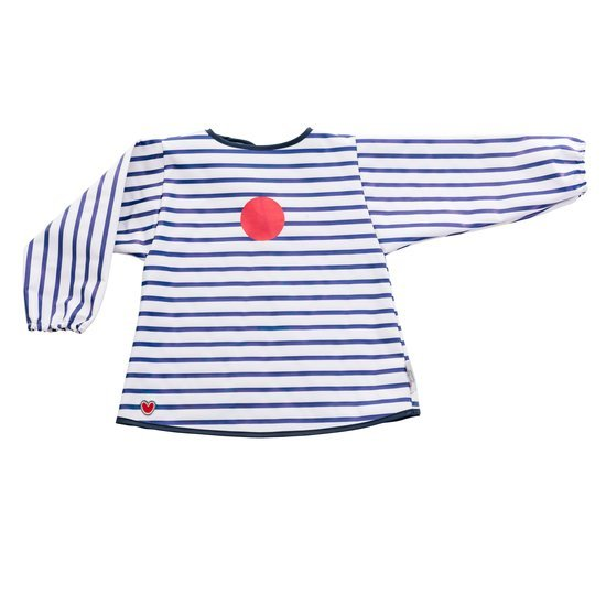 Bavoir blouse  Blue Stripes  de Babytolove