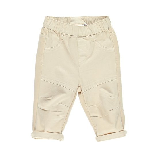 Pantalon style & confort collection Bord de mer Garçon Beige  de Noukies