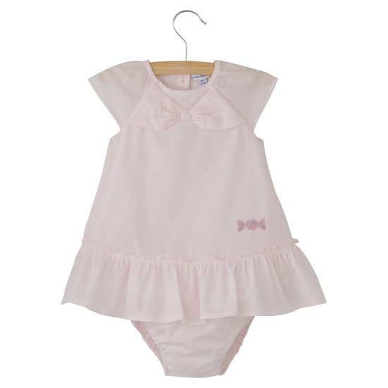 Robe + bloomer imprimé collection La Plus Jolie