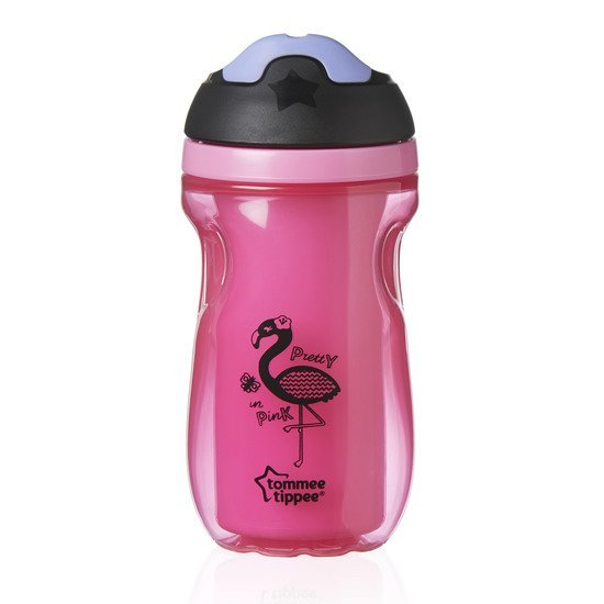 Tasse à bec isotherme 12m+ Flamant rose  de Tommee Tippee