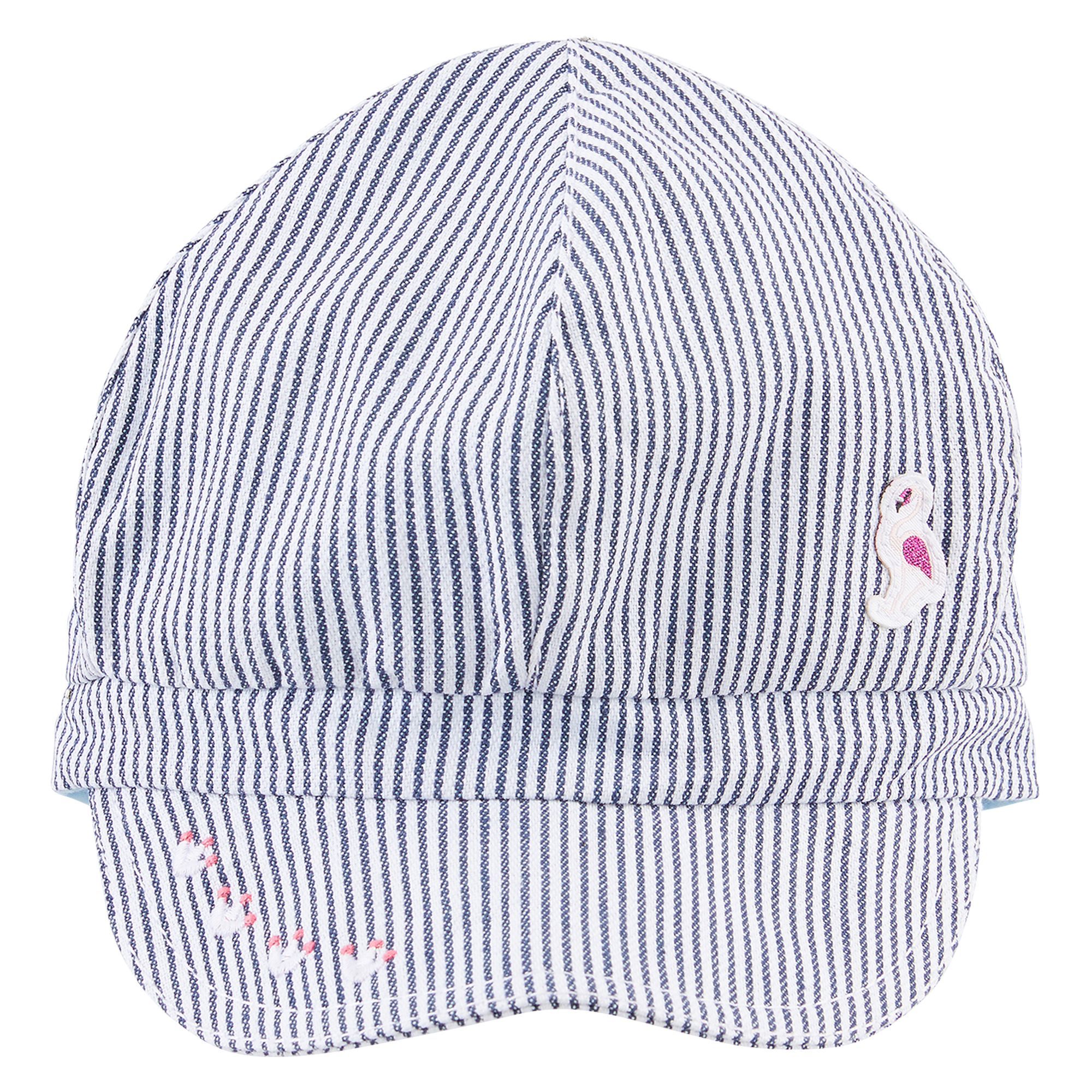 Casquette collection California Dreamin Fille Bleu/Blanc  de Nano & nanette
