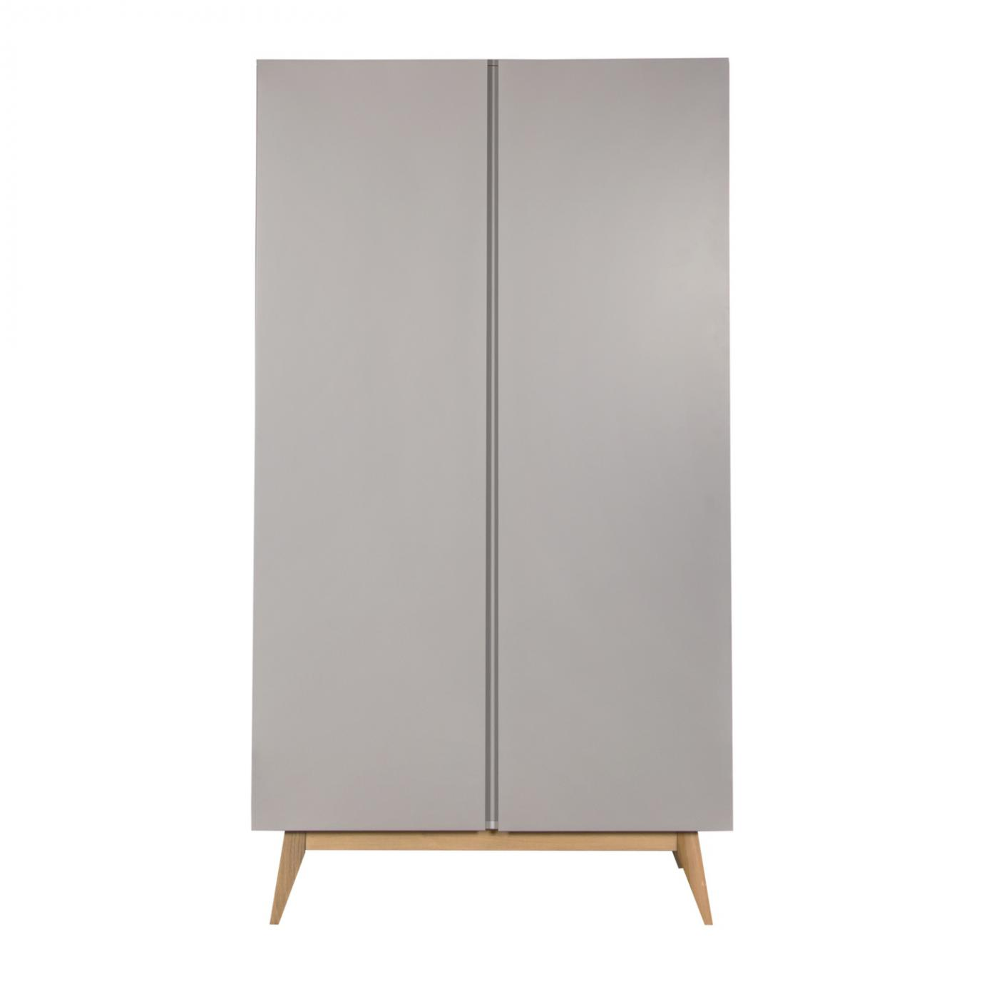 Trendy armoire 2 portes Griffin Grey  de Quax