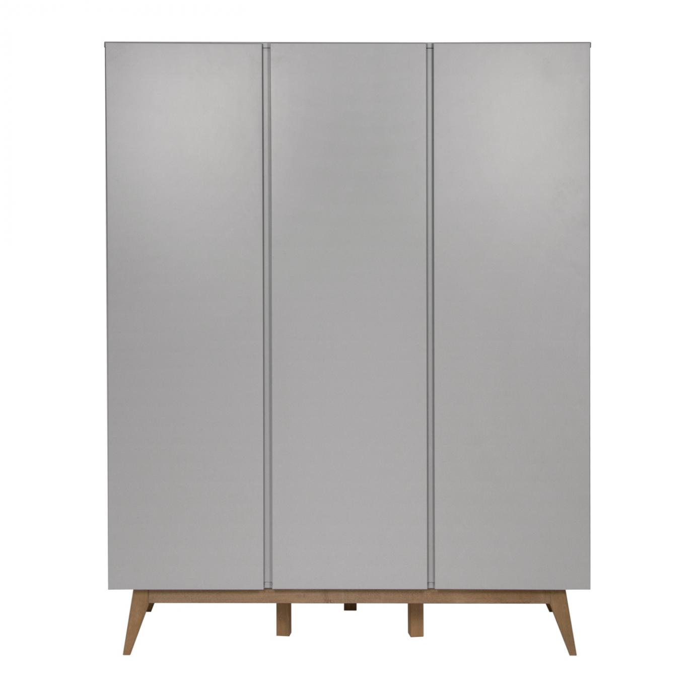 Trendy armoire 3 portes  Griffin Grey  de Quax