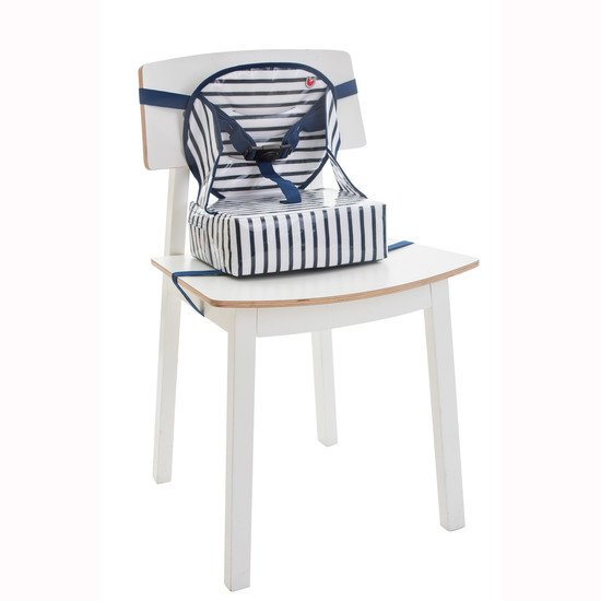 Rehausseur Easy Up Blue stripes  de Babytolove
