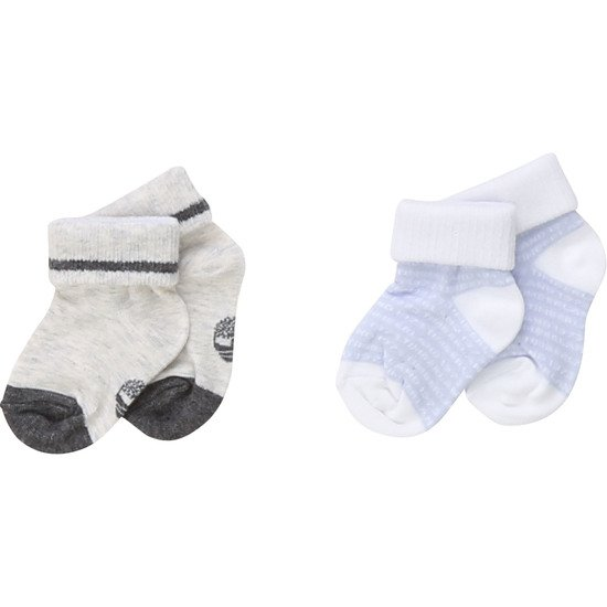 Lot 2 paires chaussettes collection Timberland Gris  de Timberland