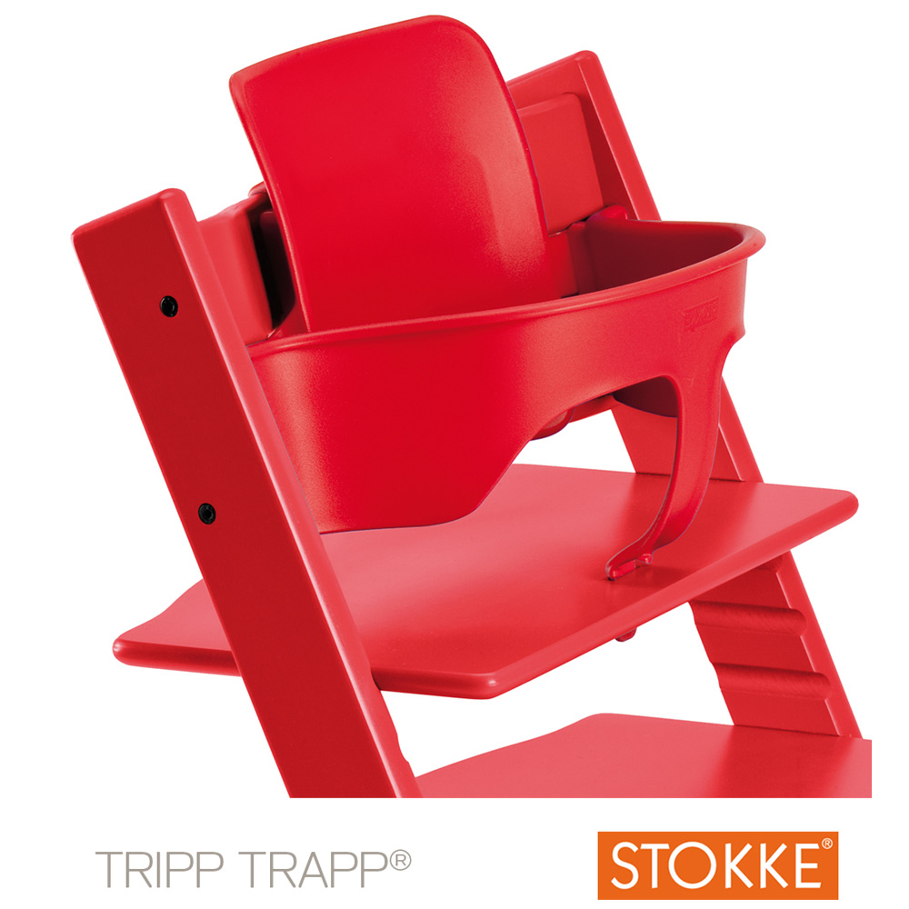 Baby Set Tripp Trapp Patin Red De Stokke Chaises Hautes